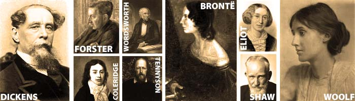 Authors from the Victorian era that we will be studying