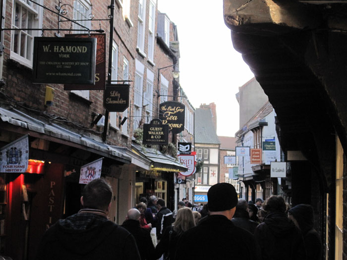 The Shambles, inspiration for Diagon Alley in Harry Potter