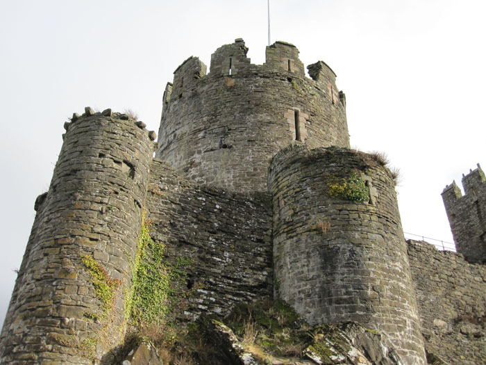 Towers of Conwy Castle