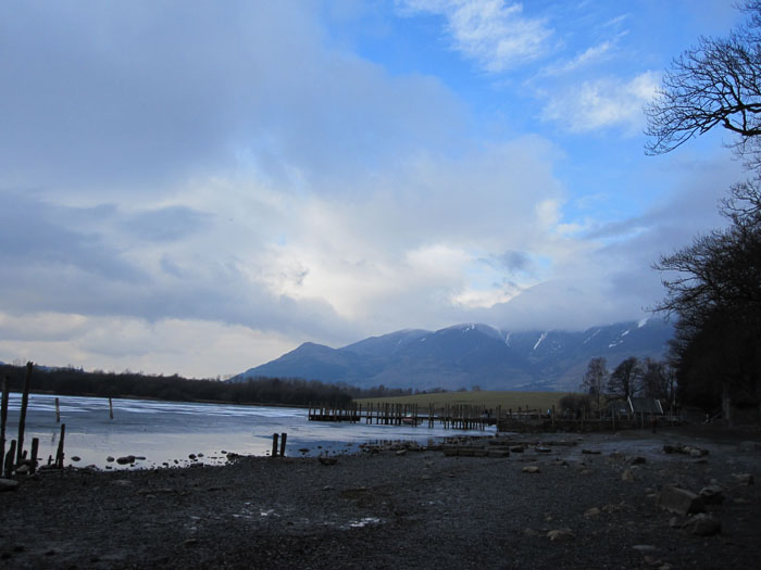 Hike around Derwent Water, the lake near Keswick