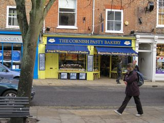 The Cornish Pasty Bakery - one of my favorite pasty shops