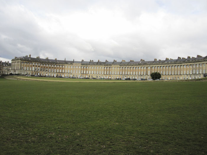 The Royal Crescent: where even more rich people live in Bath