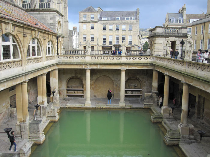 The Great Bath, Roman Baths Museum