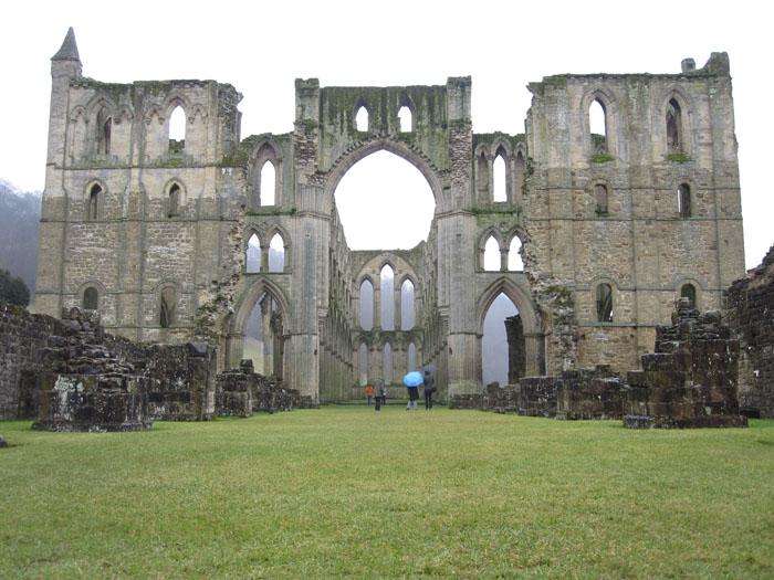 Rievaulx Abbey itself = ginormous