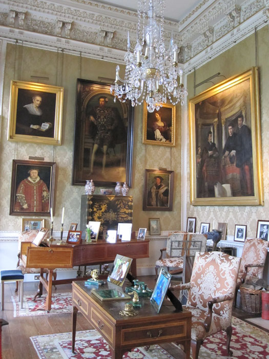 Several portraits of members of the Howard family--and Henry VIII, who married two Howard family members: Catherine Howard and Anne Boleyn