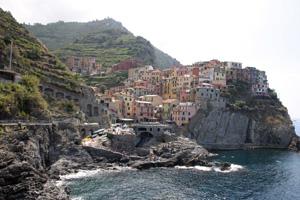 Manarola, Cinque Terre, Italy - week one of my spring break