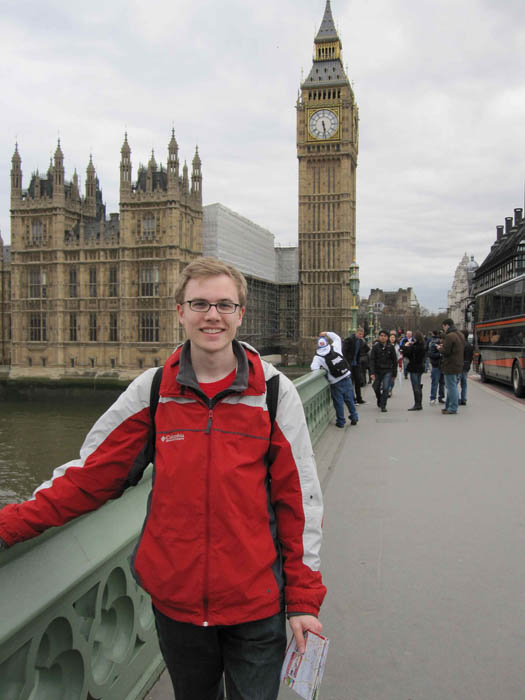 Big Ben and me (I'm thinking they should rename it Big William)