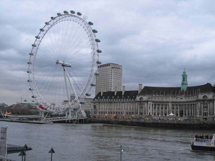 The London Eye and the South Bank walk