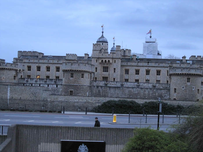 The Tower of London, site of many a execution