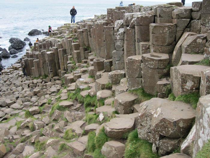 Columnar basalt of Giant's Causeway