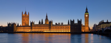Palace of Westminster, where the Houses of Parliament meet