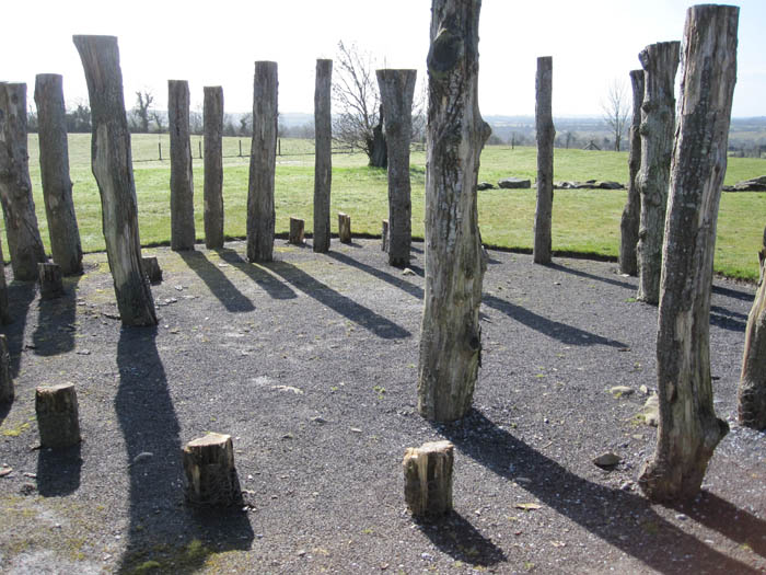 A woodhenge at Knowth