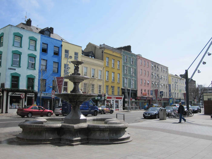 Colorful buildings on the Grand Parade in Cork