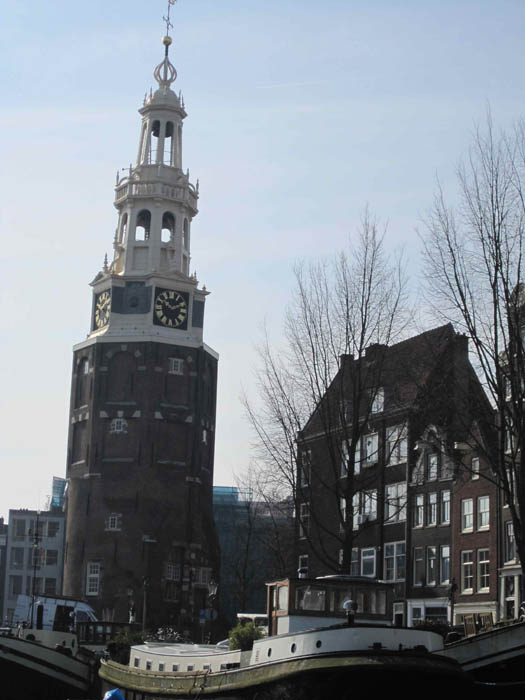 'Crazy Jack' clocktower - named so because it used to never keep the correct time (aka Montelbaanstoren)