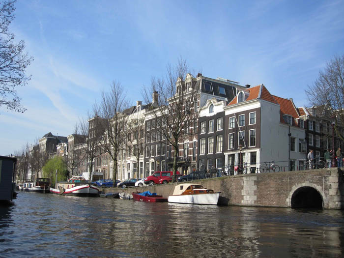 Prinsengracht, Herengracht, or Keizersgracht - I forget which one of those three this is