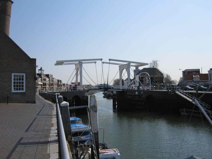 Historic bridge in Zierikzee