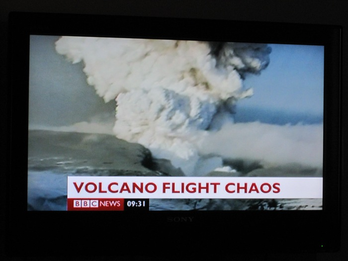 F***ing Eyjafjallajökull on the BBC in the morning