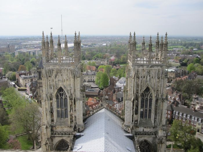 Towers of the York Minster