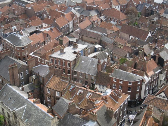 Rooftops of York
