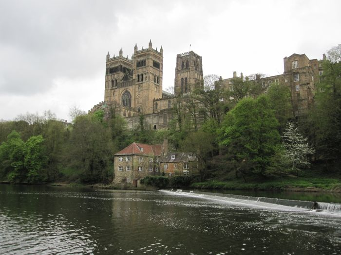 Durham Cathedral across River Wear