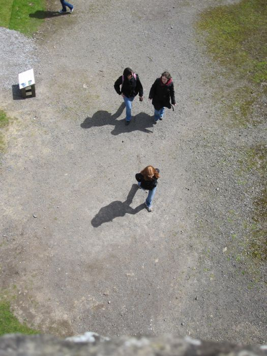 Mary, Melissa A., and Fran from above, Vindolanda