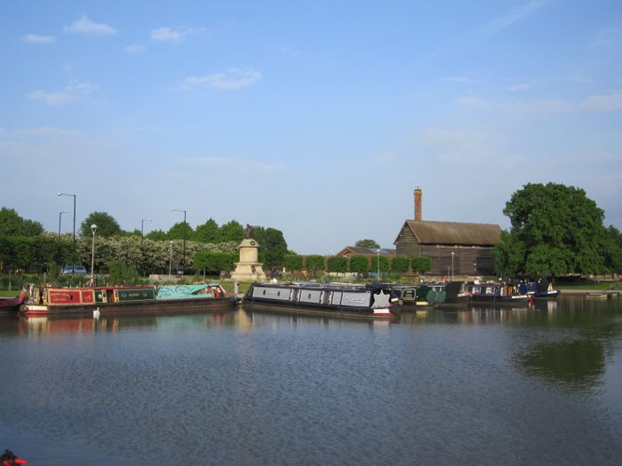 Stratford-upon-Avon, England, birthplace of Shakespeare